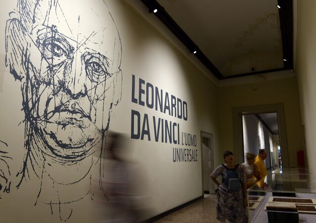 A Leonardo da Vinci exhibition in Venice in 2013