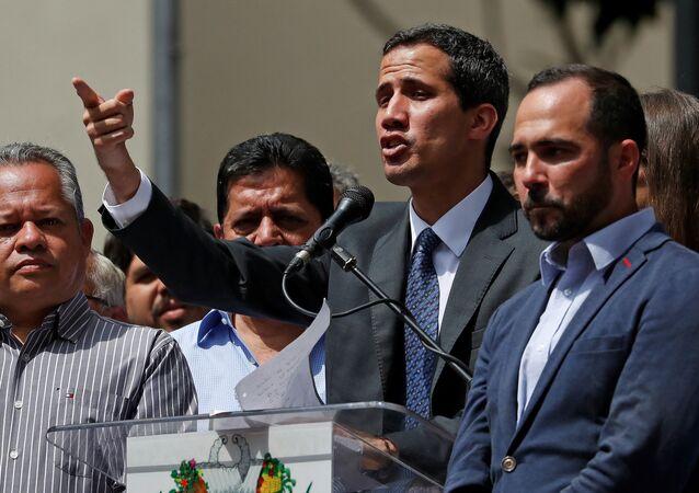 Venezuela's opposition leader Juan Guaido