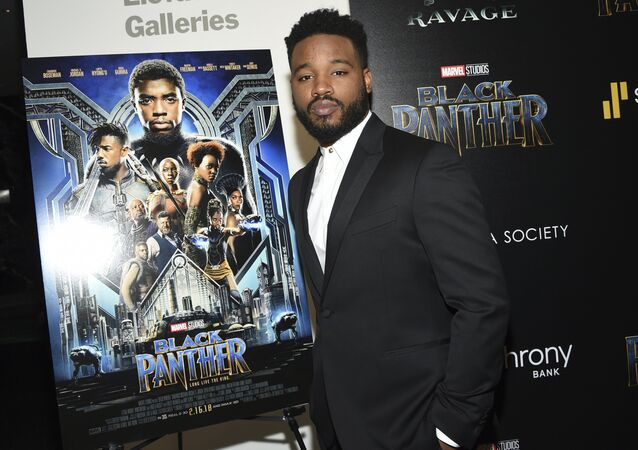 Ryan Coogler Attends a Special Screening of Black Panther in New York