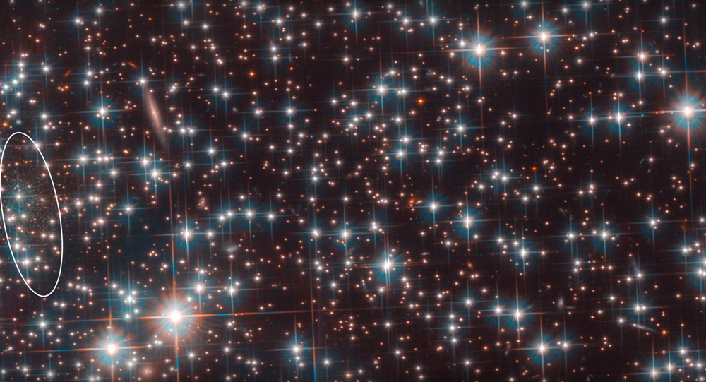 Bedin 1 galaxy image from Hubble.