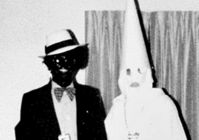 The offending image found in Governor Ralph Northam's yearbook.