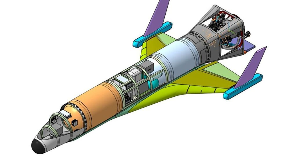 Russia's reusable single-engine unmanned spacecraft