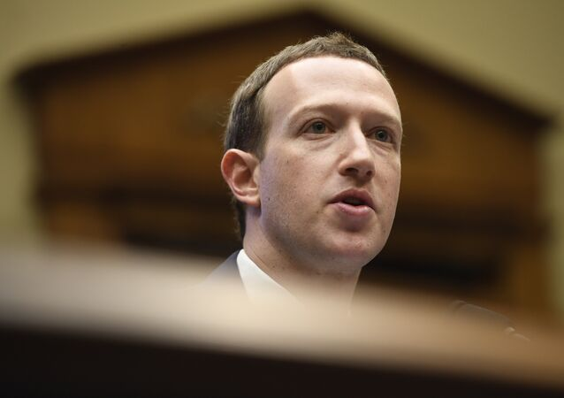 Facebook CEO and founder Mark Zuckerberg testifies during a US House Committee on Energy and Commerce hearing about Facebook on Capitol Hill in Washington, DC, April 11, 2018