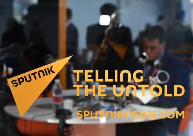 Sputnik news room