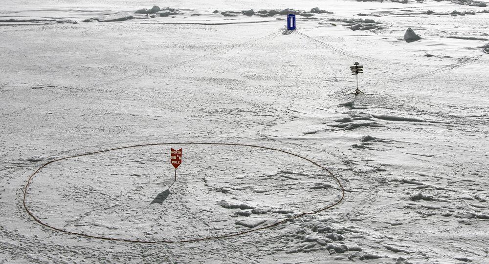Tardis located: North Pole