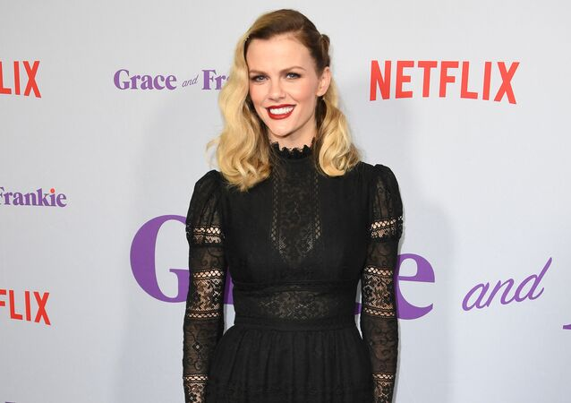 Actress Brooklyn Decker arrives for the Season 4 premiere of Netflix's Grace and Frankie at the Arclight Theater in Culver City, California on January 18, 2018