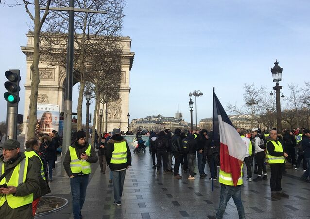 13th Consecutive Yellow Vests Rally in Paris