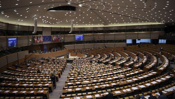 European Parliament members attend a plenary session at the European Parliament in Brussels, Thursday, Jan. 31, 2019 - Sputnik International