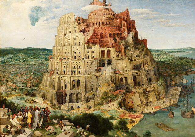 Pieter Bruegel the Elder - The Tower of Babel, 1563 (Vienna).
