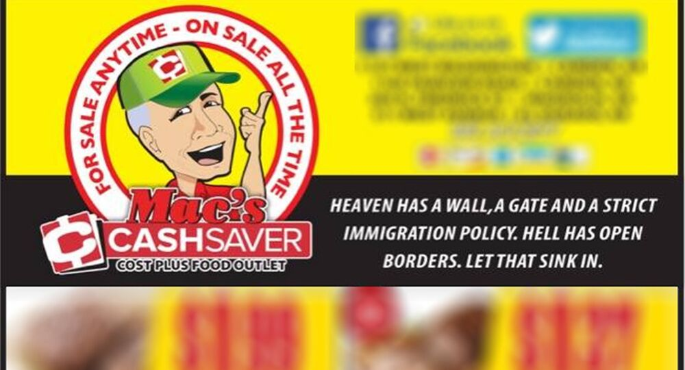 Mac's Cash Saver Facebook page screengrab
