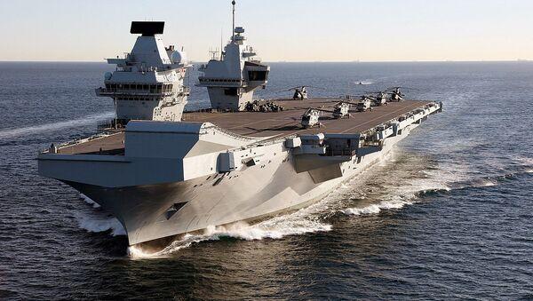 HMS Queen Elizabeth - Sputnik International