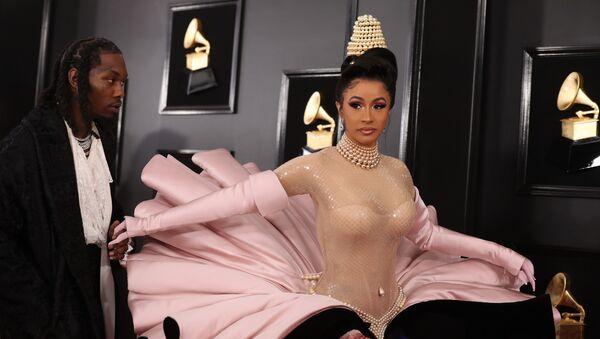 61st Grammy Awards - Arrivals - Los Angeles, California, U.S., February 10, 2019 - Offset and Cardi B - Sputnik International