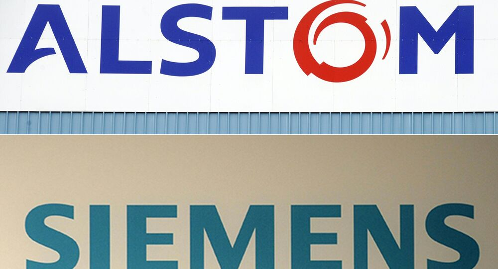 Alstom, a French company, was due to merge its railway business with the German giant Siemens, until the EU's anti-trust chief vetoed the deal in February 2019