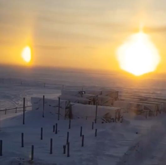'Three Suns' Effect