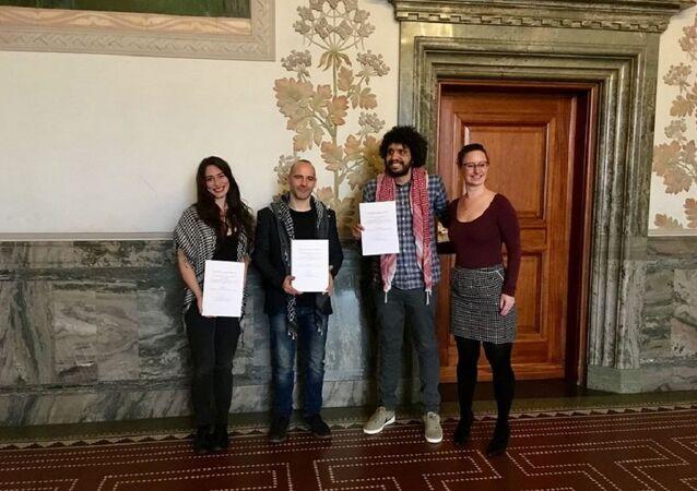 2019 Copenhagen Courageous Award goes to Humboldt3 BDS human rights activists
