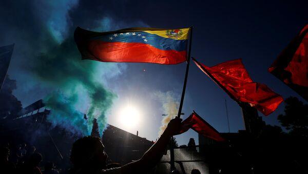 La bandera de Venezuela - Sputnik International