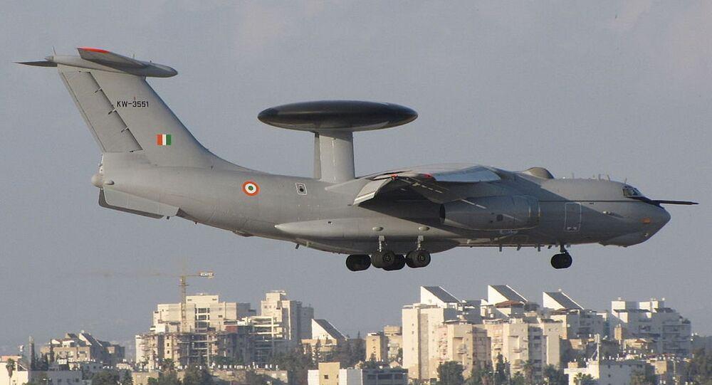India Air Force AWACS: Beriev A-50EI Mainstay