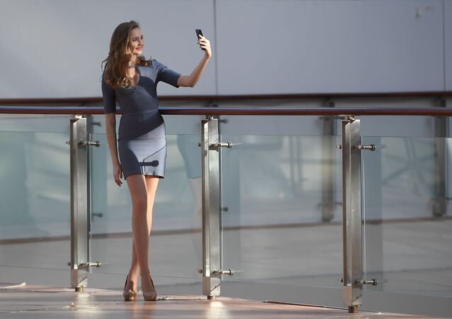 The Open Audition for the Miss Russia 2019 Beauty Contest in Moscow's Afimall City