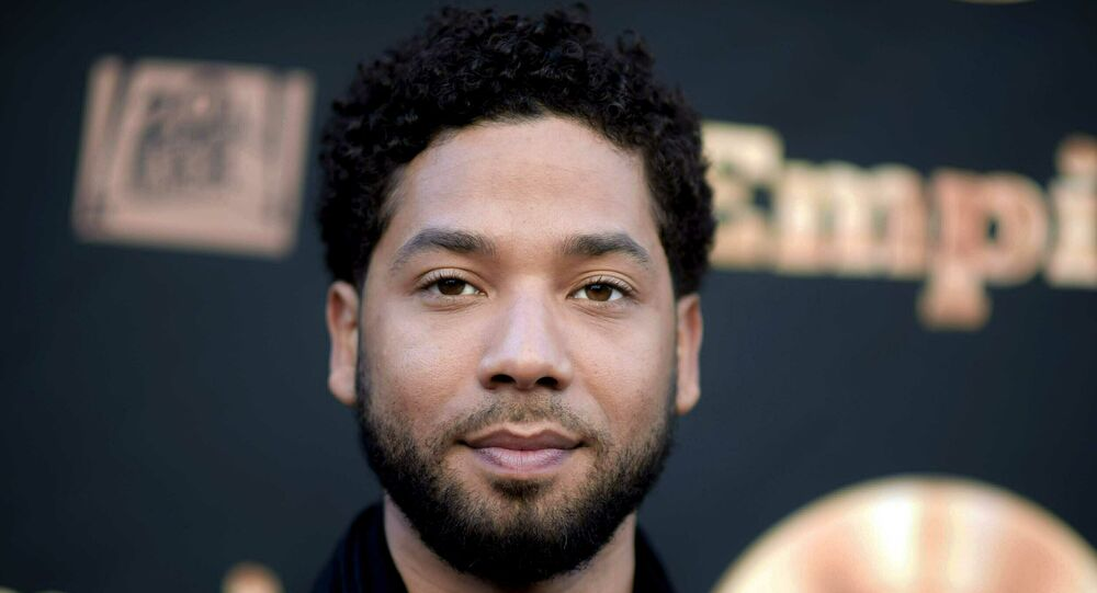 In this May 20, 2016 file photo, actor and singer Jussie Smollett attends the Empire FYC Event in Los Angeles