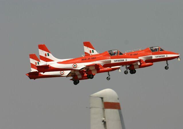 HAL HJT-16 Kiran Indian Air Force ( Surya Kiran Aerobatic Team )