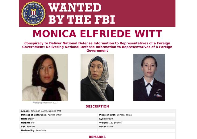 This image provided by the FBI shows the wanted poster for Monica Witt