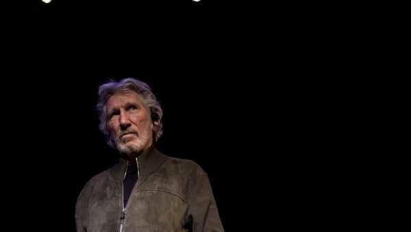 British rock icon and activist Roger Waters attends a conference on the Palestinian situation at Matucana Cultural Center in Santiago. File photo - Sputnik International