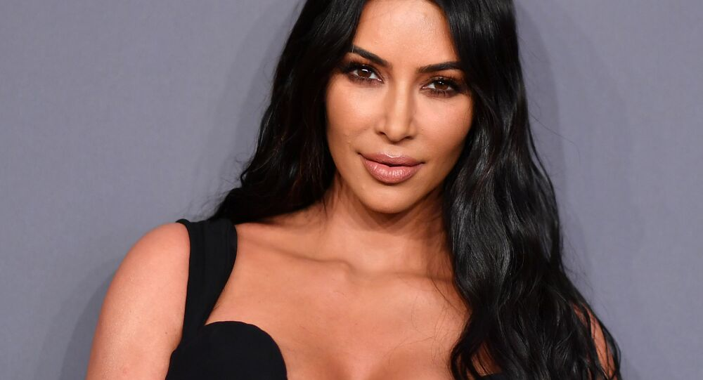 US media personality Kim Kardashian West arrives to attend the amfAR Gala New York at Cipriani Wall Street in New York City on February 6, 2019