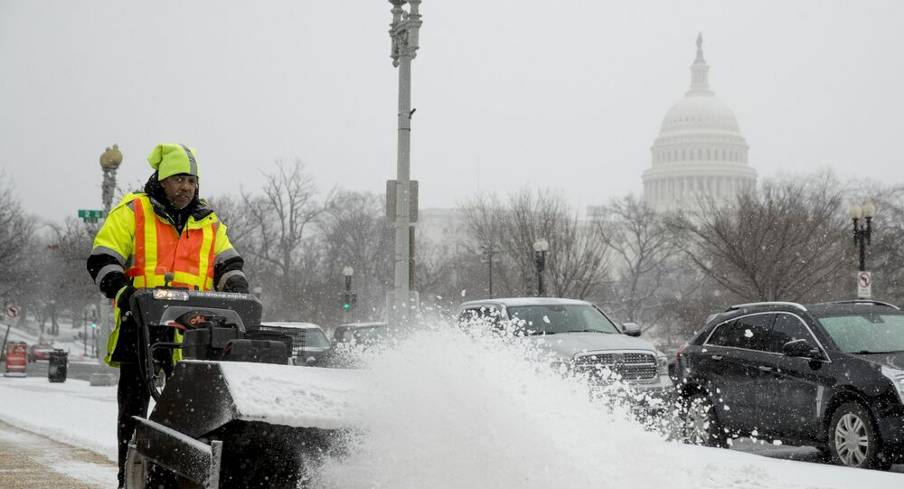 Snow storm acr0ss US