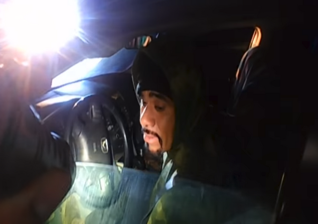 California's Napa County Sheriff's Office releases footage showing armed suspect attempting to kill Deputy Riley Jarecki