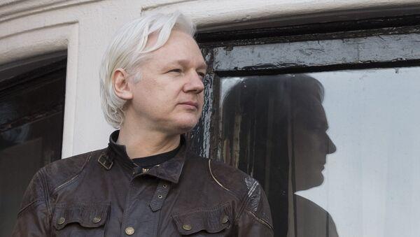 WikiLeaks' founder Julian Assange - Sputnik International