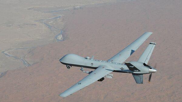 An MQ-9 Reaper unmanned aerial vehicle - Sputnik International