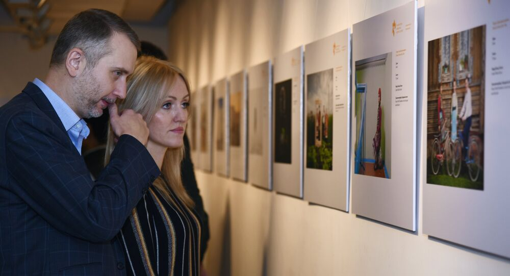 An exhibition by the Andrei Stenin International Press Photo Contest opened at the All India Fine Arts and Crafts Society's Gallery in New Delhi on Friday.