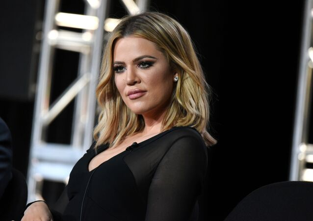 Khloe Kardashian participates in the panel for Kocktails with Khloe at the FYI 2016 Winter TCA on Wednesday, Jan. 6, 2016, in Pasadena, Calif.