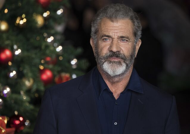 Actor Mel Gibson poses for photographers upon arrival at the premiere of the film 'Daddys Home 2', in London, Thursday, Nov. 16, 2017.