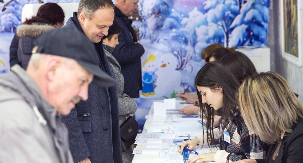 Parliamentary elections and referendum in Moldova