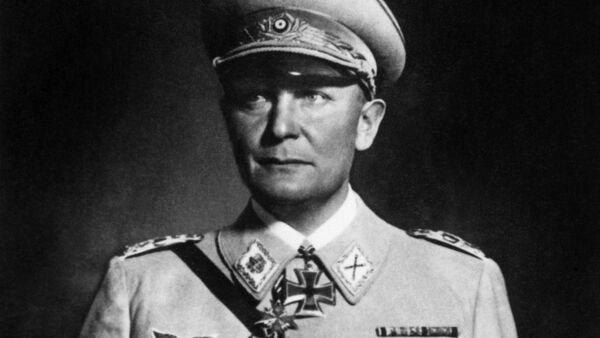 A photo taken during World War II showing Reichsmarshal Hermann Goering. Hermann Goering (1893-1946), was Commander-in-Chief of the Luftwaffe, President of the Reichstag, and initially Hitler's chosen successor - Sputnik International