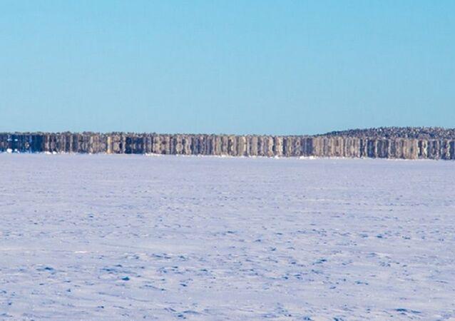New Island on Lake Inari