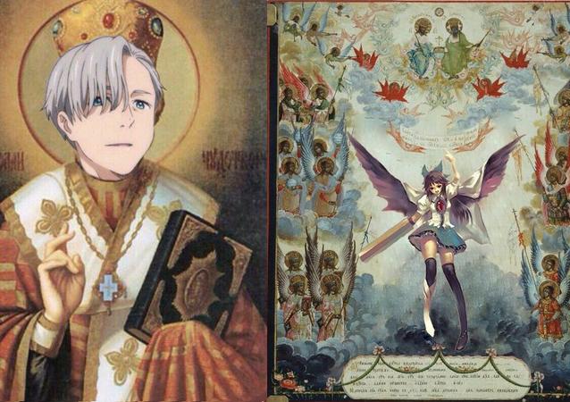 Anime Orthodox icons.