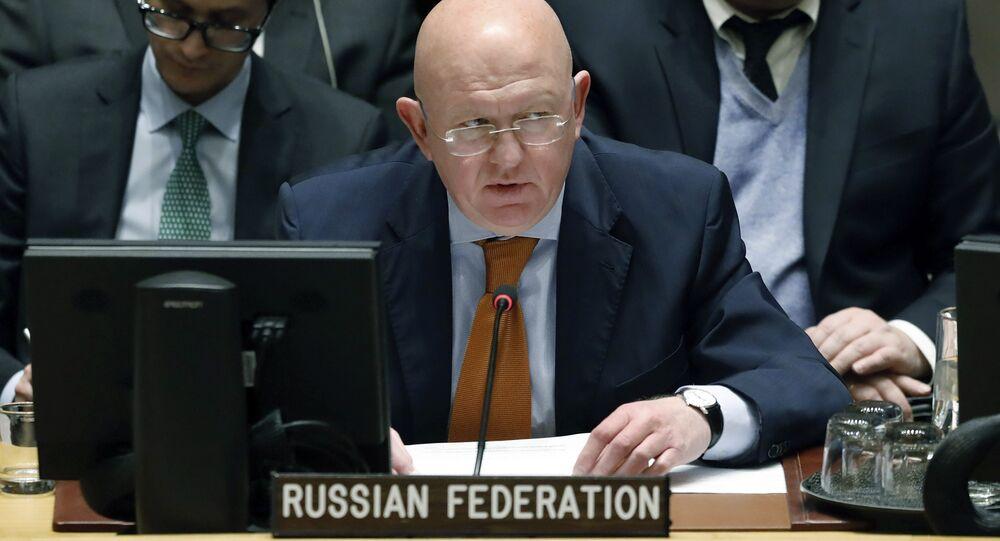 Russian Ambassador to the United Nations Vassily Nebenzia