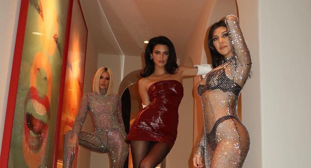 Khloe Kardashian, Kourtney Kardashian and Kendall Jenner