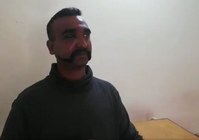 This is apparently a video interview of the Wing Commander Abhinandan. He seems to be in good spirits and enjoying his tea. One must admire his composure in this situation