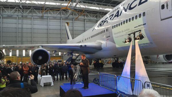 Speech of Alexandre De Juniac, Air France-KLM president (File photo). - Sputnik International