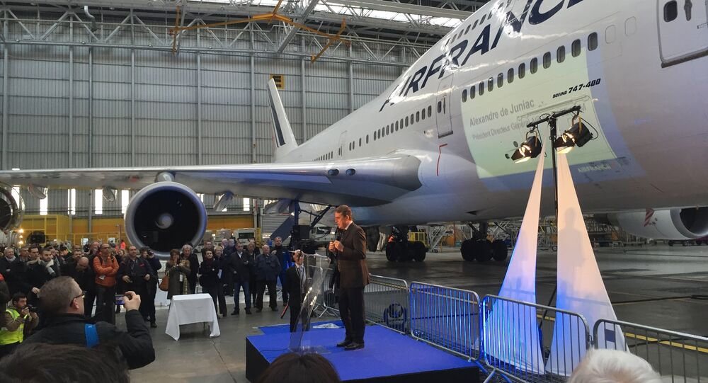 Speech of Alexandre De Juniac, Air France-KLM president (File photo).