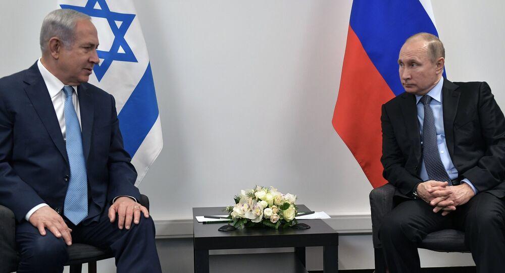 Russian President Vladimir Putin and Israeli Prime Minister Benjamin Netanyahu