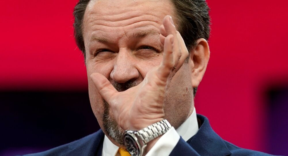 Former Trump adviser Sebastian Gorka speaks at the Conservative Political Action Conference (CPAC) at National Harbor in Oxon Hill, Maryland, U.S., February 28, 2019.