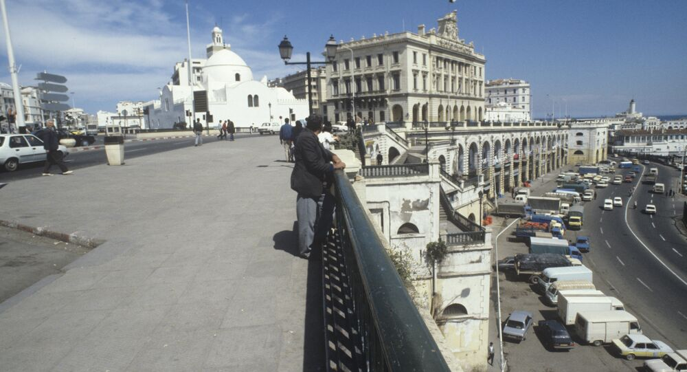 View of central Algiers.