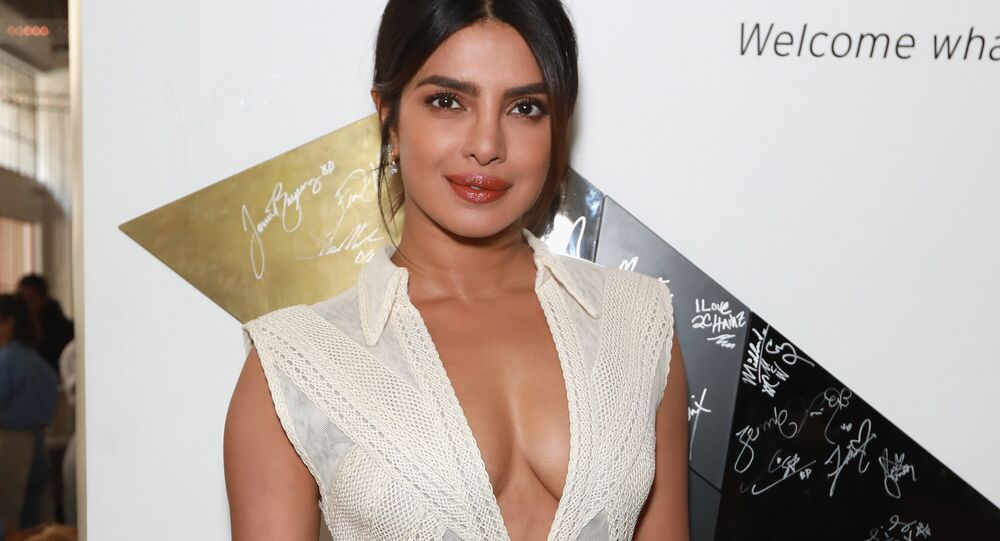 FEBRUARY 09: Priyanka Chopra attends Sir Lucian Grainge's 2019 Artist Showcase Presented by Citi at The Row on February 9, 2019 in Los Angeles, California.