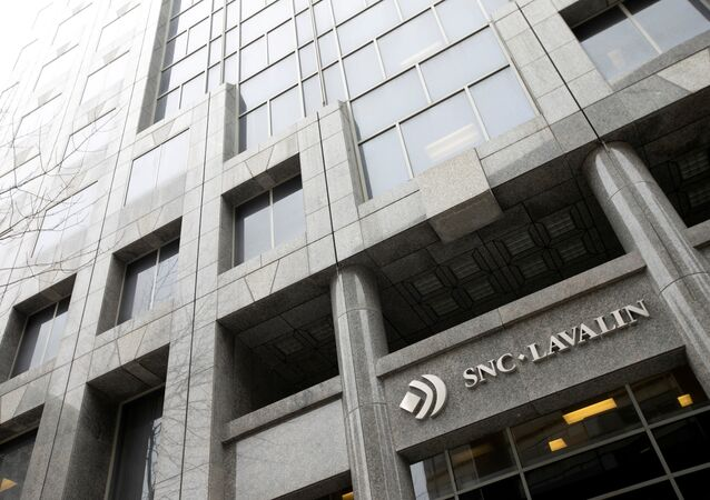 The SNC-Lavalin Group Inc., headquarters seen in Montreal, Quebec, Canada