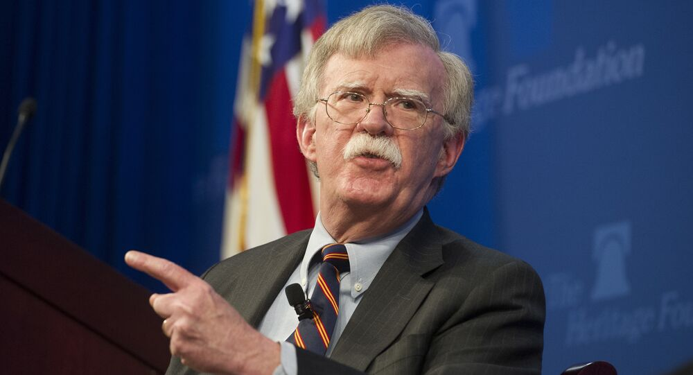 Trump administration sues to block publication of John Bolton's book