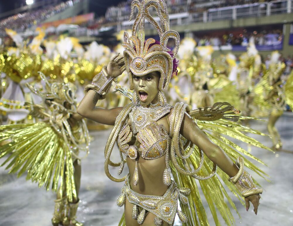 Explosion of Colour: Brazilian Carnival Kicks off With Enchanting Street Parade